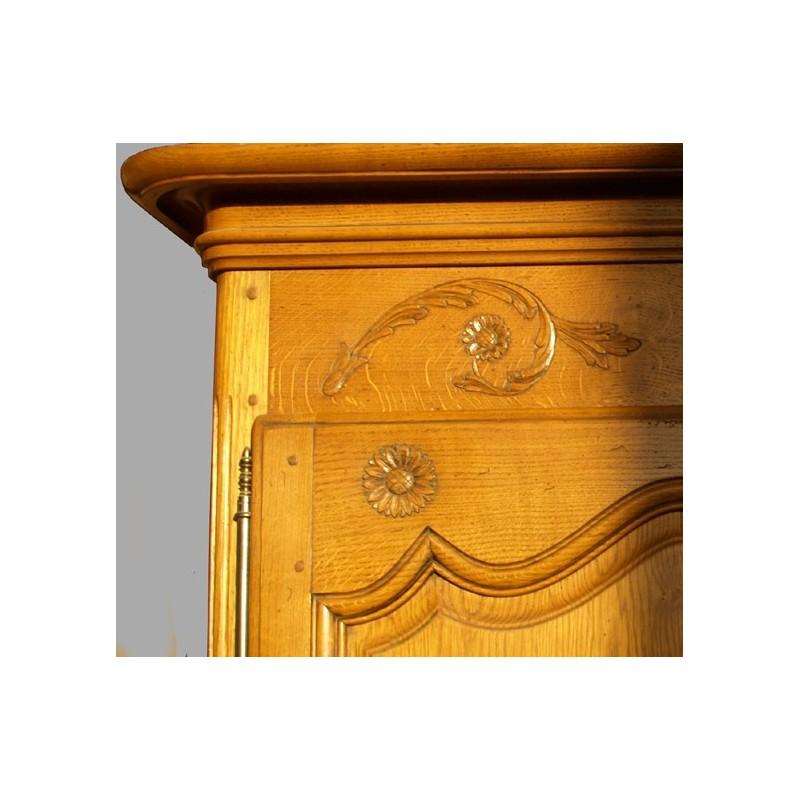 Armoire normande marguerite en ch ne meubles de normandie for Porte normande