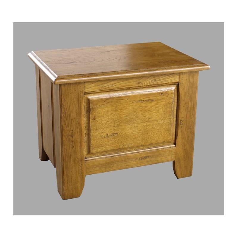 coffre moyen haut vieux bois fran ois meubles de normandie. Black Bedroom Furniture Sets. Home Design Ideas