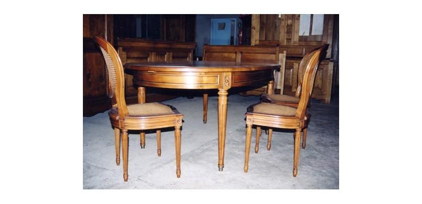 tables de style louis xvi meubles de normandie. Black Bedroom Furniture Sets. Home Design Ideas