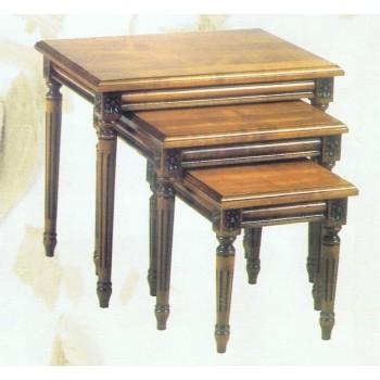 tables de salon de style meubles de normandie. Black Bedroom Furniture Sets. Home Design Ideas