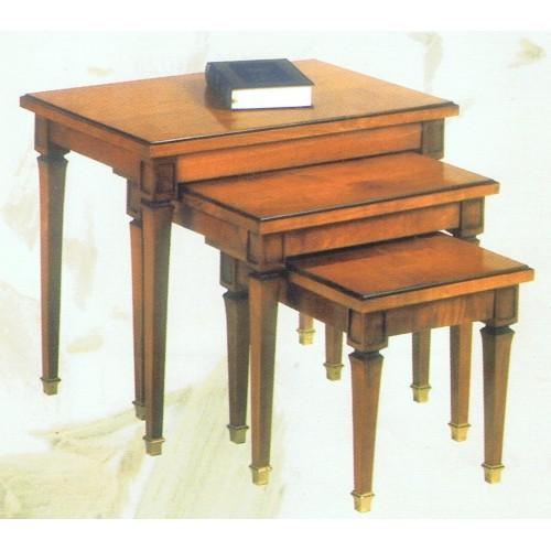 Tables gigognes de style Directoire - Meubles de Normandie