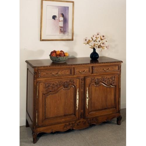 bahut normand perle en ch ne meubles de normandie. Black Bedroom Furniture Sets. Home Design Ideas