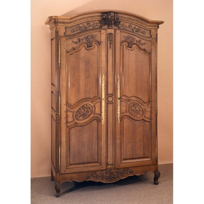 armoire normande rose en ch ne meubles de normandie. Black Bedroom Furniture Sets. Home Design Ideas