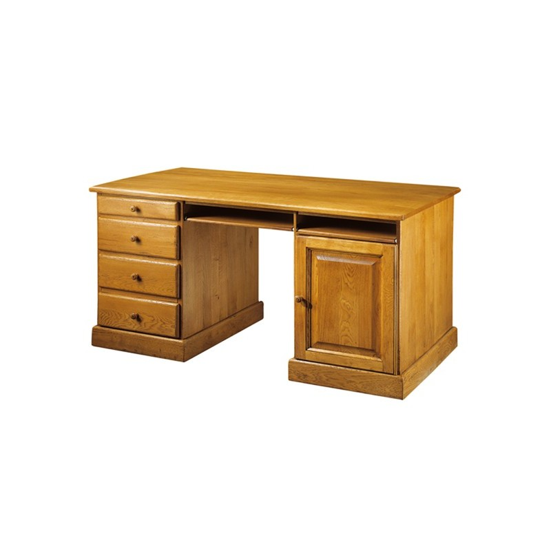 Bureau campagnard de grand nicolas meubles de normandie for Meuble bureau 974