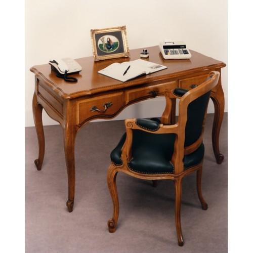 petit bureau louis xv en ch ne meubles de normandie. Black Bedroom Furniture Sets. Home Design Ideas