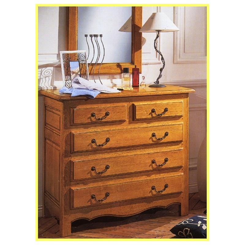 grande commode d 39 annie 5 tiroirs meubles de normandie. Black Bedroom Furniture Sets. Home Design Ideas