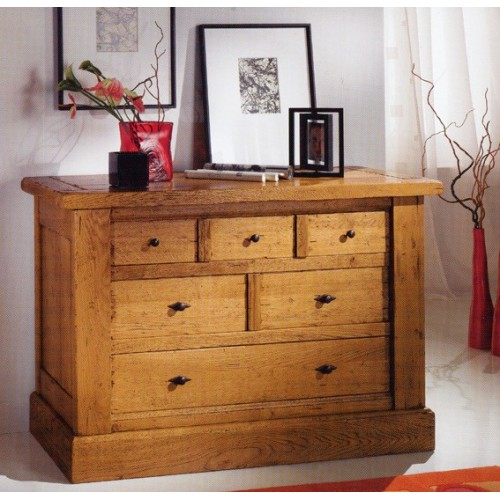 commode campagnarde de jules en ch ne meubles de normandie. Black Bedroom Furniture Sets. Home Design Ideas