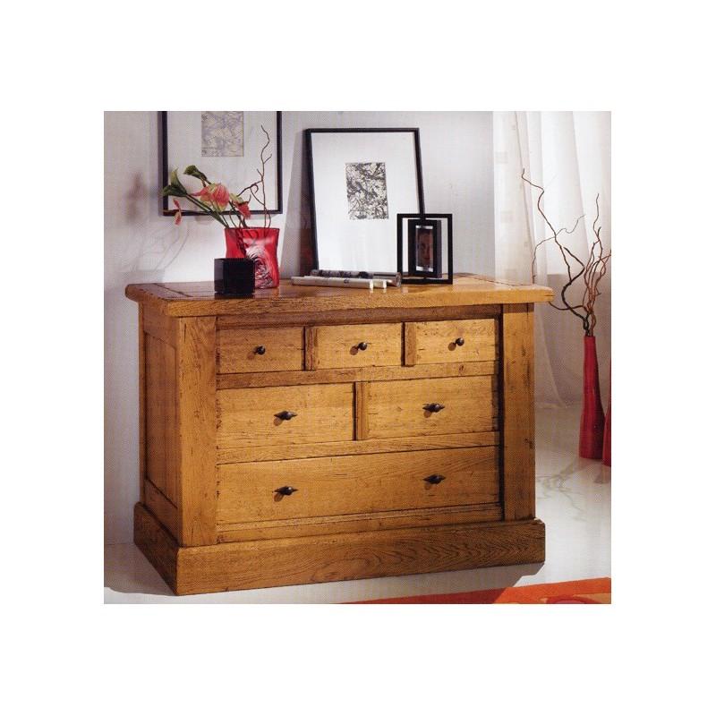commode campagnarde de jules en ch ne meubles de normandie. Black Bedroom Furniture Sets. Home Design Ideas