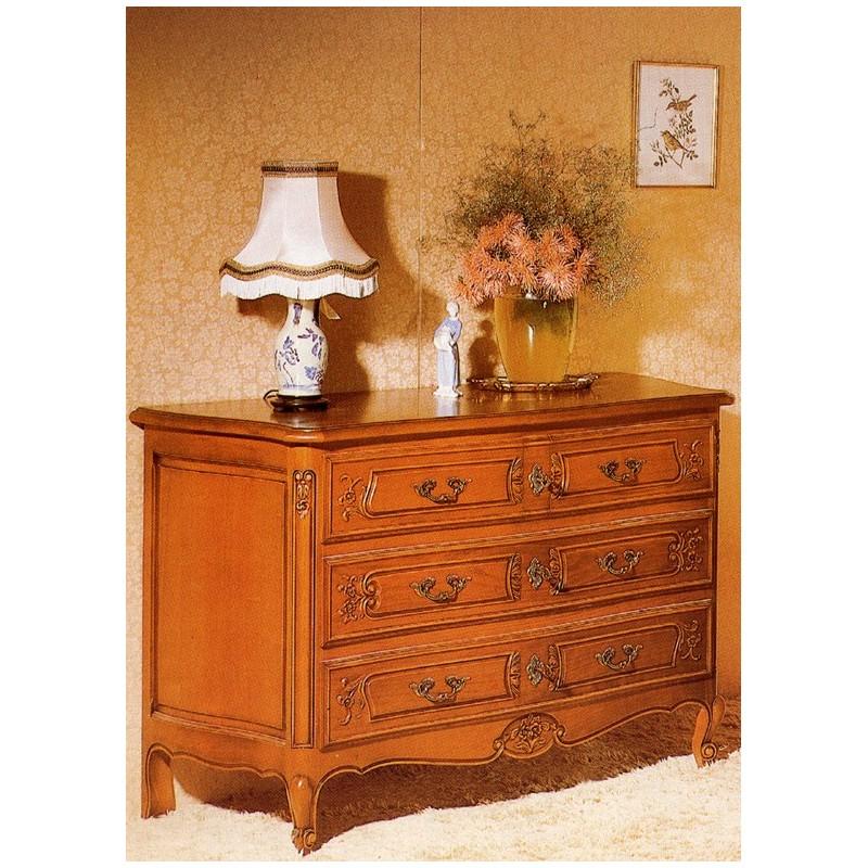 grande commode r gence 505 en merisier meubles de normandie. Black Bedroom Furniture Sets. Home Design Ideas