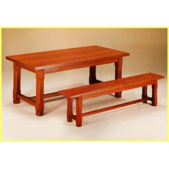Banc pour table de ferme (finition 3 )