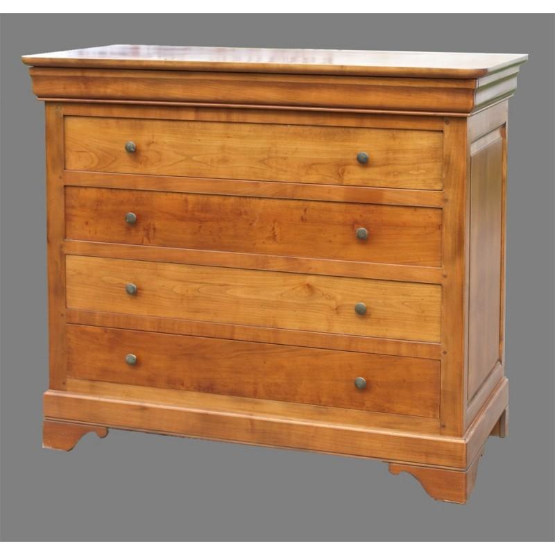 grande commode val rie i en merisier meubles de normandie. Black Bedroom Furniture Sets. Home Design Ideas