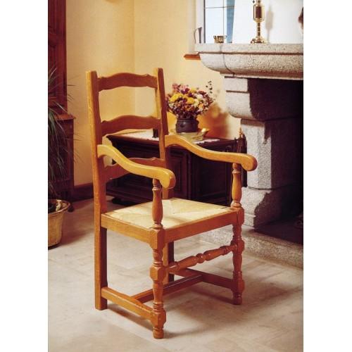 fauteuil campagnard en ch ne n 2 meubles de normandie. Black Bedroom Furniture Sets. Home Design Ideas