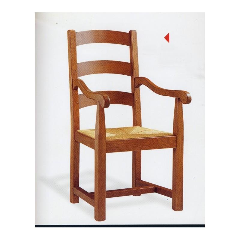 fauteuil campagnard en ch ne n 3 meubles de normandie. Black Bedroom Furniture Sets. Home Design Ideas