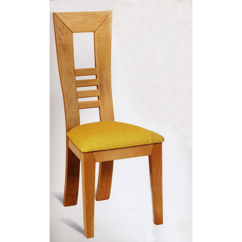 chaise karla assise tissu meubles de normandie. Black Bedroom Furniture Sets. Home Design Ideas
