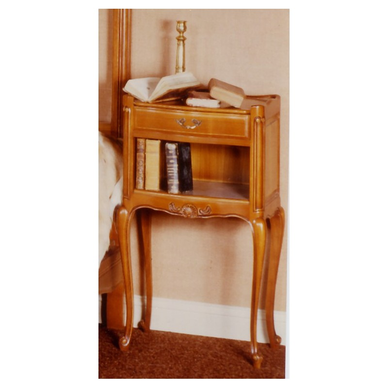 Chevet r gence merisier de la chambre 505 meubles de for Meuble chaise telephone