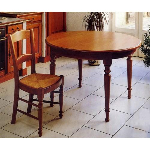 Petite table ronde en ch ne meubles de normandie for Table ronde en chene