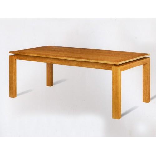 Grande table rectangulaire karla meubles de normandie for Meuble tele 1m
