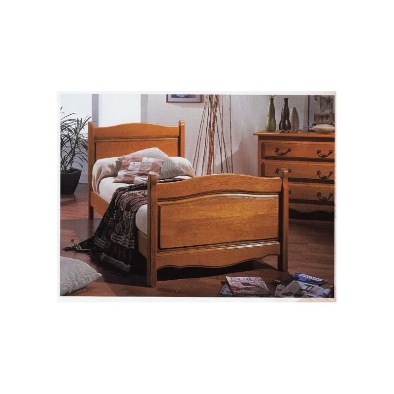 lit d 39 annie chantourn en 90 x 190 meubles de normandie. Black Bedroom Furniture Sets. Home Design Ideas