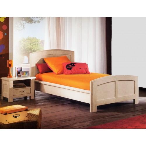 lit de gaspard ch ne blanc en 90 meubles de normandie. Black Bedroom Furniture Sets. Home Design Ideas
