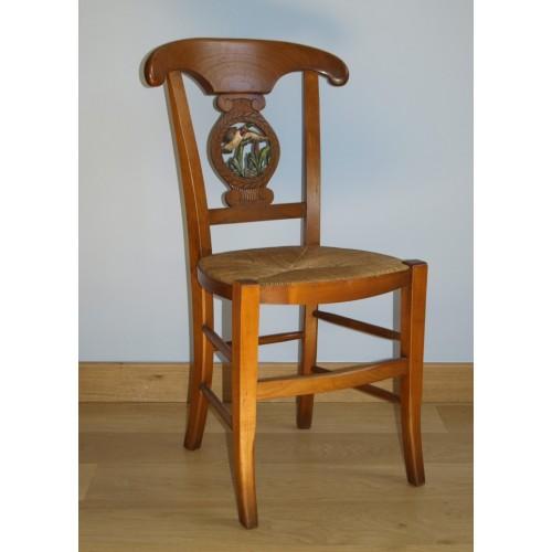 chaise directoire n 2 en merisier meubles de normandie. Black Bedroom Furniture Sets. Home Design Ideas