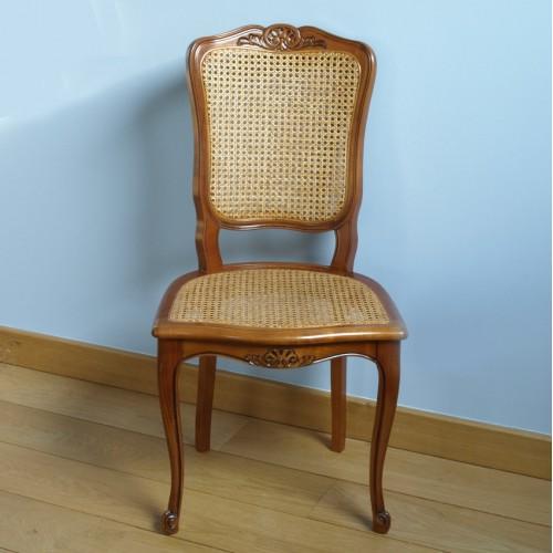 chaise r gence n 3 en h tre cann e meubles de normandie. Black Bedroom Furniture Sets. Home Design Ideas