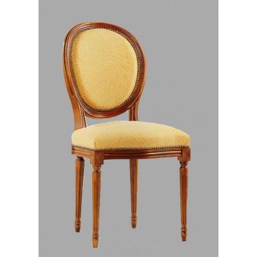 chaise louis xvi en h tre et tissu meubles de normandie. Black Bedroom Furniture Sets. Home Design Ideas