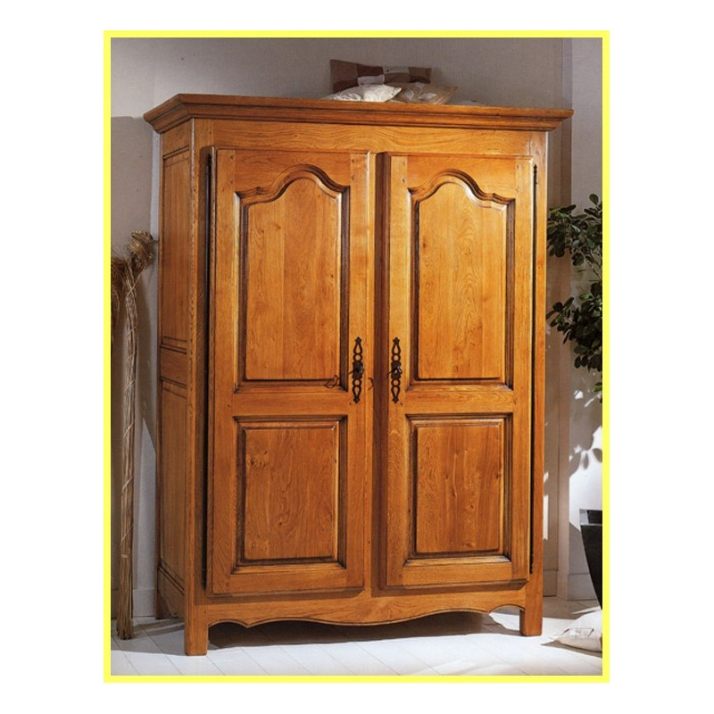 petite armoire d 39 annie 2 portes meubles de normandie. Black Bedroom Furniture Sets. Home Design Ideas