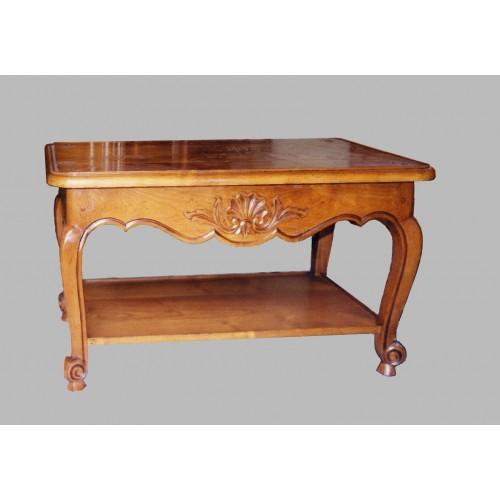 Table de salon louis xv flor lie n 1 meubles de normandie for Meuble tv louis xv