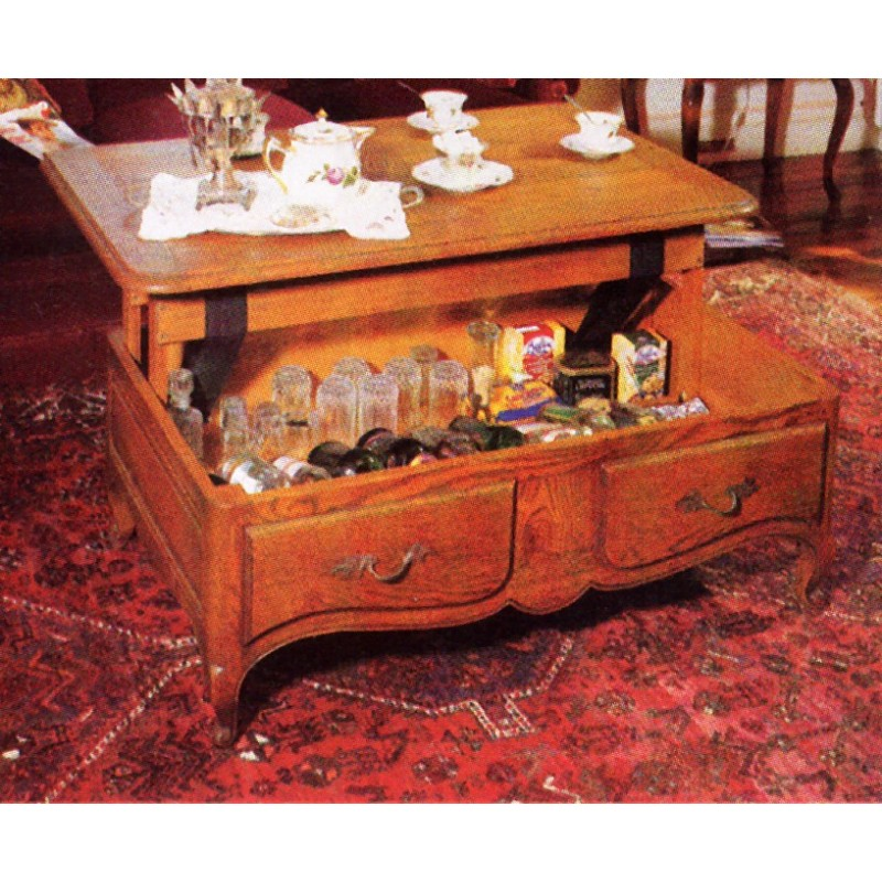 Table de salon dinatoire flor lie meubles de normandie - Salon louis xv ...