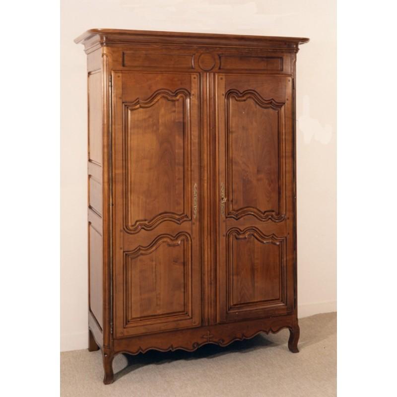 Armoire normande juliette en merisier meubles de normandie for Porte normande