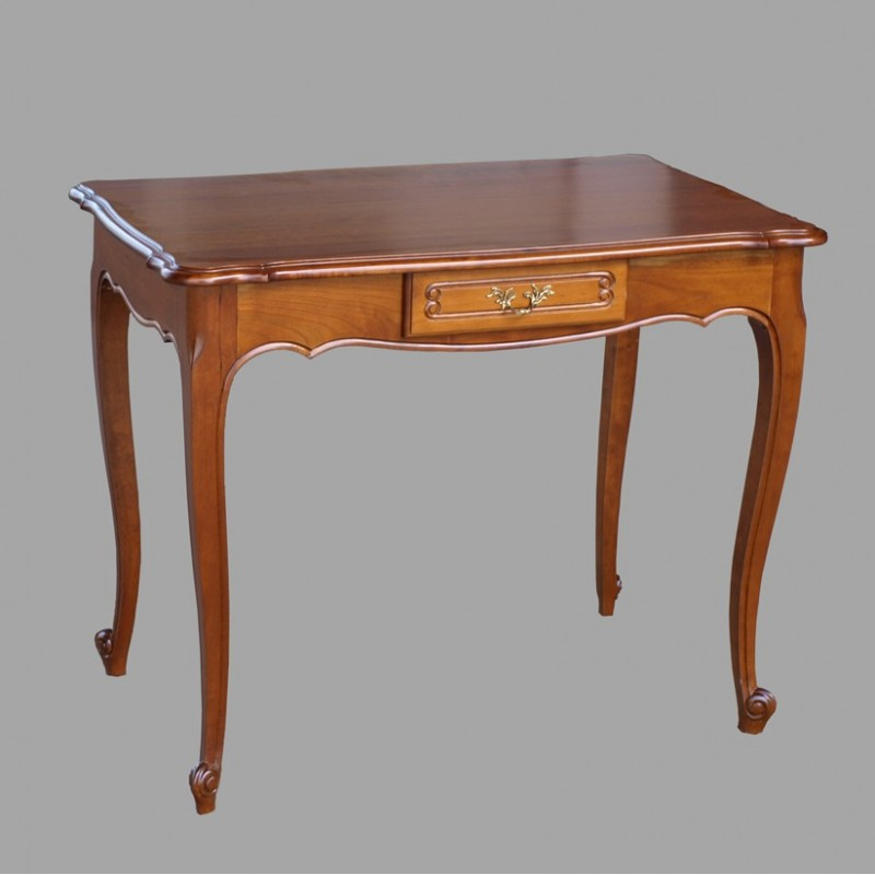 Table manger style louis xv accueil design et mobilier for Meuble bureau louis xv
