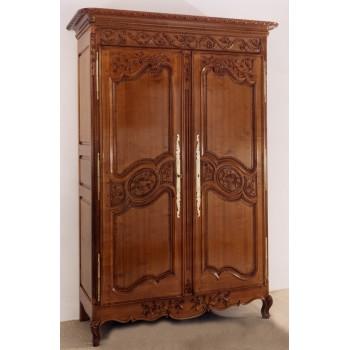 Armoires 2 portes meubles de normandie for Porte normande