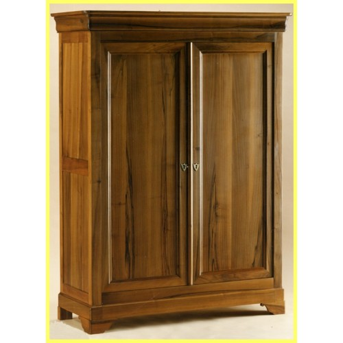armoire 2 portes val rie ii en noyer meubles de normandie. Black Bedroom Furniture Sets. Home Design Ideas