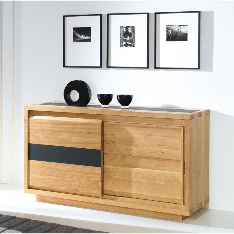 bahut bas oslo petit mod le meubles de normandie. Black Bedroom Furniture Sets. Home Design Ideas