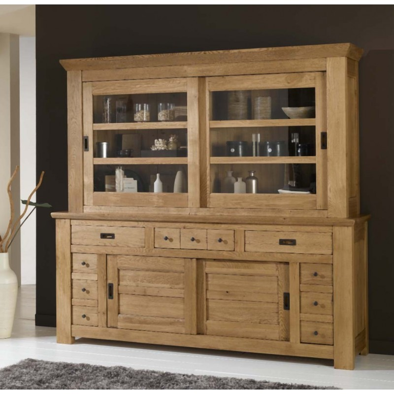 vaisselier de gaspard grand mod le meubles de normandie. Black Bedroom Furniture Sets. Home Design Ideas