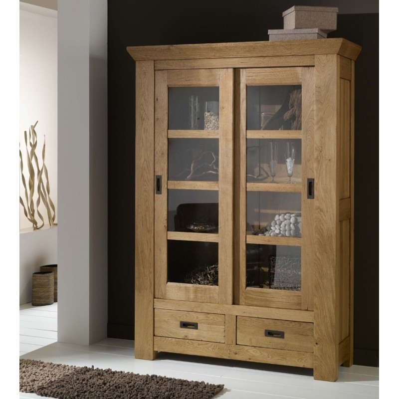 vitrine biblioth que de gaspard meubles de normandie. Black Bedroom Furniture Sets. Home Design Ideas