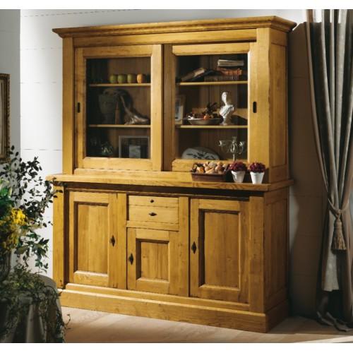 vaisselier de jules petit mod le meubles de normandie. Black Bedroom Furniture Sets. Home Design Ideas