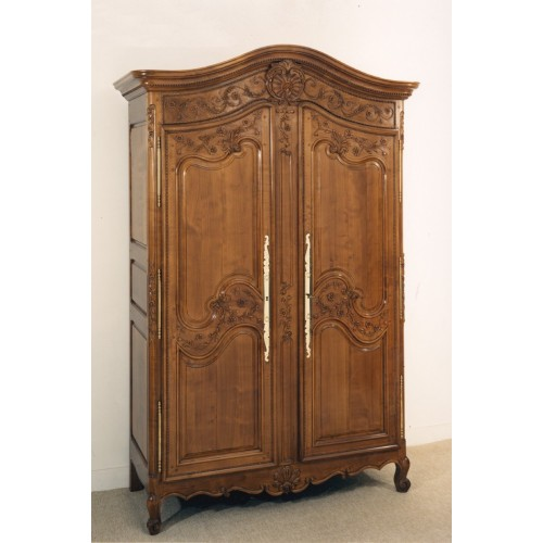 armoire normande angeline en merisier meubles de normandie. Black Bedroom Furniture Sets. Home Design Ideas
