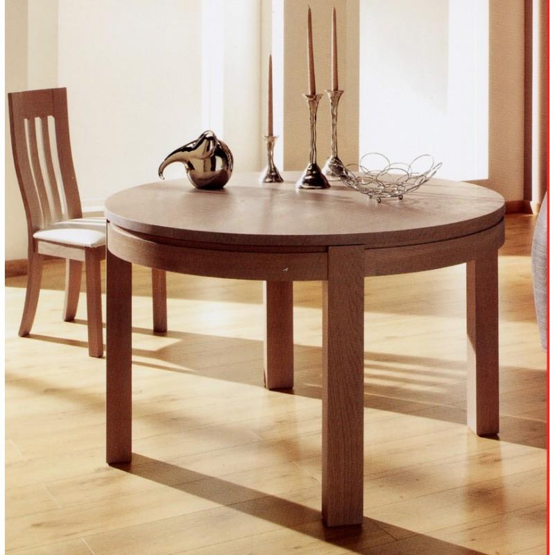 table ronde arlequin meubles de normandie. Black Bedroom Furniture Sets. Home Design Ideas