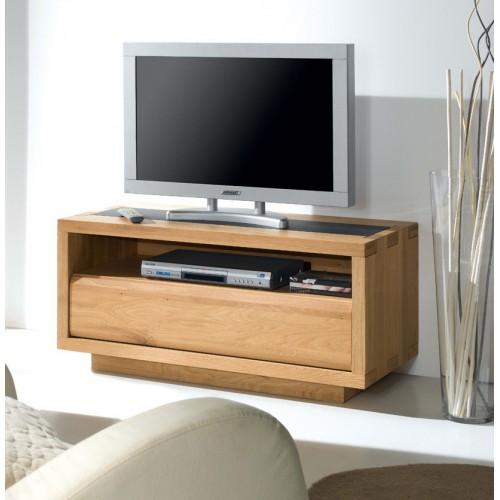 meuble tele oslo à 1 niche  Meubles de Normandie -> Meuble De Télé Ovale