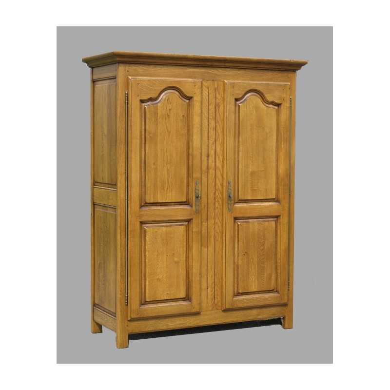 grande armoire d 39 annie 2 portes meubles de normandie. Black Bedroom Furniture Sets. Home Design Ideas