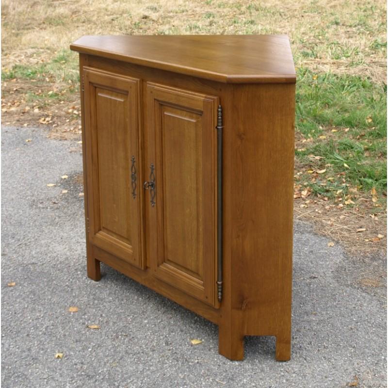 Meuble d 39 angle bas d 39 annie meubles de normandie - Meuble angle chambre ...
