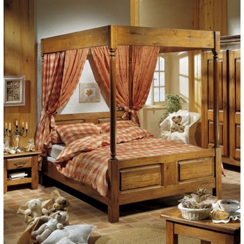 lit baldaquin meubles de normandie. Black Bedroom Furniture Sets. Home Design Ideas