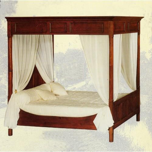 lit baldaquin d 39 annie n 1 meubles de normandie. Black Bedroom Furniture Sets. Home Design Ideas