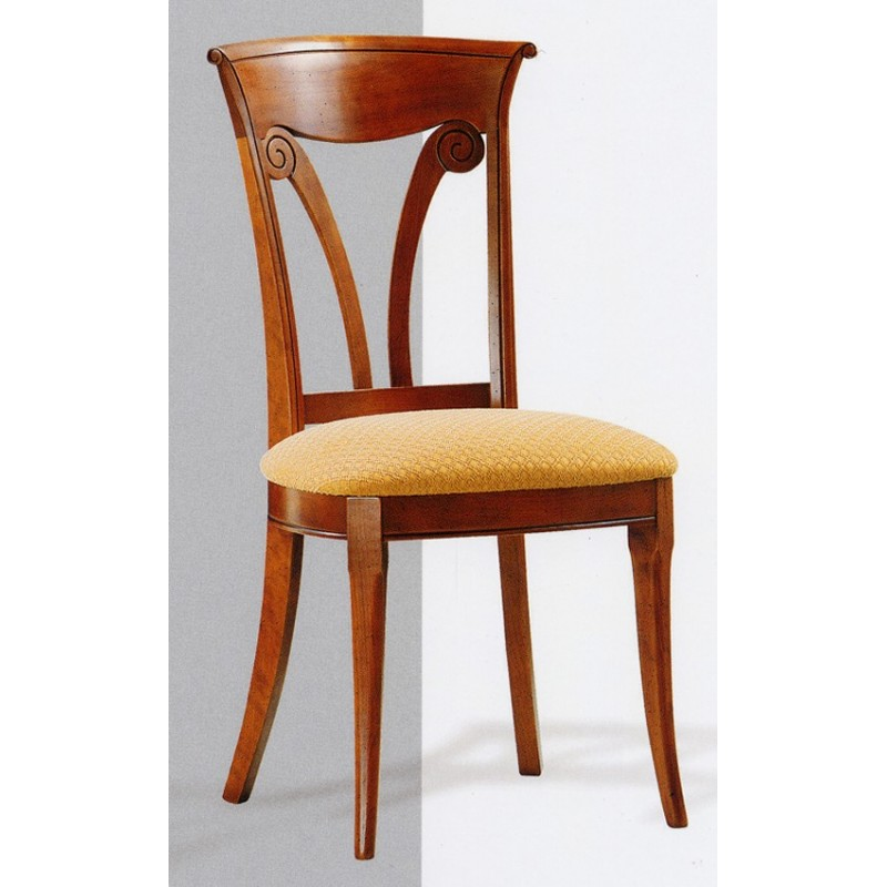 Chaise directoire n 1 en h tre meubles de normandie for Chaise en hetre
