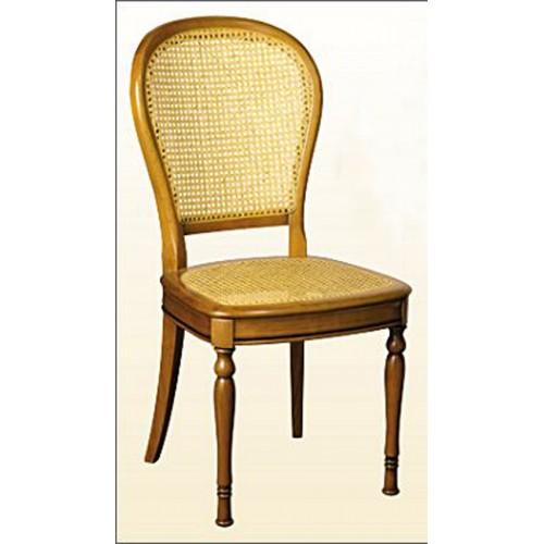 chaise louis philippe n 5 en h tre et cannage meubles de. Black Bedroom Furniture Sets. Home Design Ideas