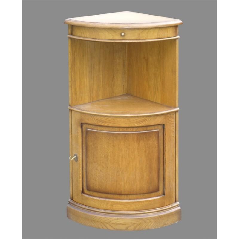 Meuble d 39 angle quart de cercle meubles de normandie Petit meuble d angle
