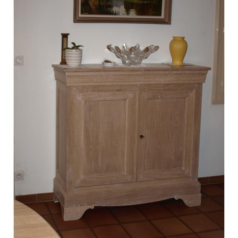 Meuble d 39 appui louis philippe rosy meubles de normandie for Meuble louis philippe