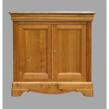 meuble entree merisier 2 portes 1 tiroir