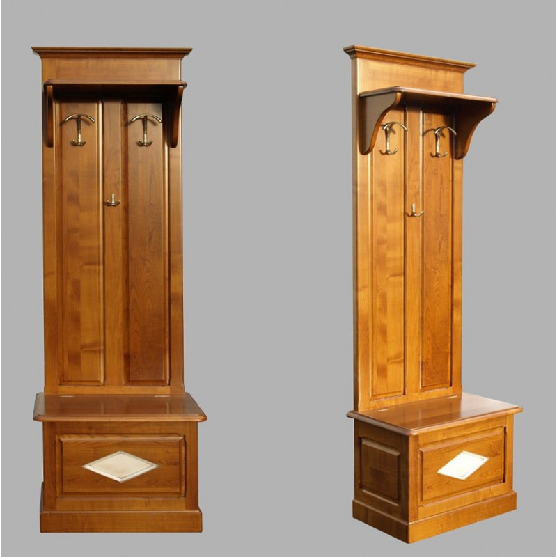 meuble d entr e vestiaire penderie d entr e blanc bois. Black Bedroom Furniture Sets. Home Design Ideas